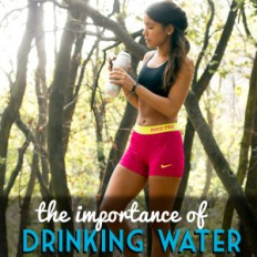 the importance of drinking water 2